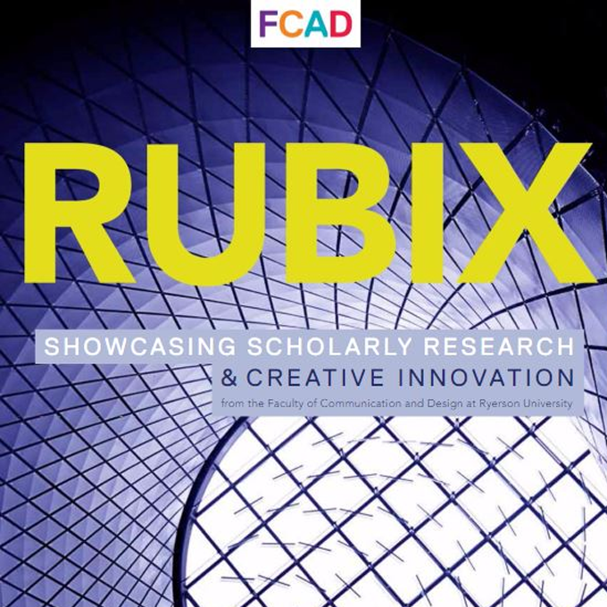 Cover design for Rubix event